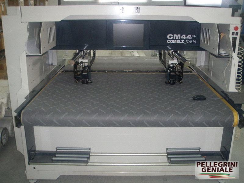 Comelz cm44 la tecnologia del taglio per pelli for Sinonimo di tecnologia